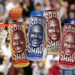 Rexam designs can for new AriZona Beverages product, Soda Shaq