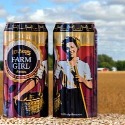 Lift Bridge Brewing Company launches Farm Girl Saison in Rexam 16oz cans