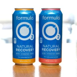 formula O2 helps consumers recover naturally