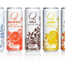 Q Drinks launches its spectacular sodas in Rexam 12 oz. Sleek cans