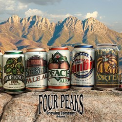 Four Peaks launches five brews in Rexam 12 oz cans