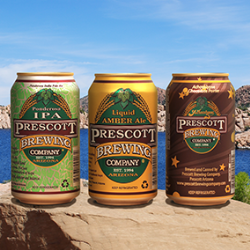 Prescott Brewing Company expands canned offerings
