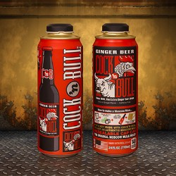 Cock'n Bull Ginger Beer adds Rexam 24oz. Cap Can to packaging mix