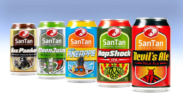 SanTan Brewing Company introduces an exciting new look