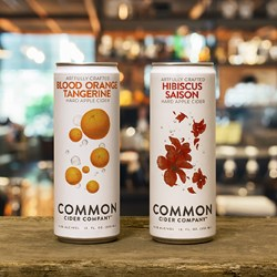 Common cider expands into cans