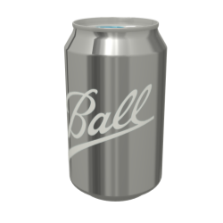 330ml Beverage Can 3D Model