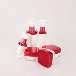 Square Acrylic Bottles & Jars