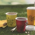 Planglow launch chic new range of colourful compostable cups