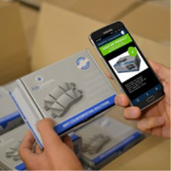 First smartphone app that lets consumers verify authenticity of products and fight against counterfeiting