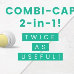 HKs Combi-Cap is twice as useful and twice as nice!