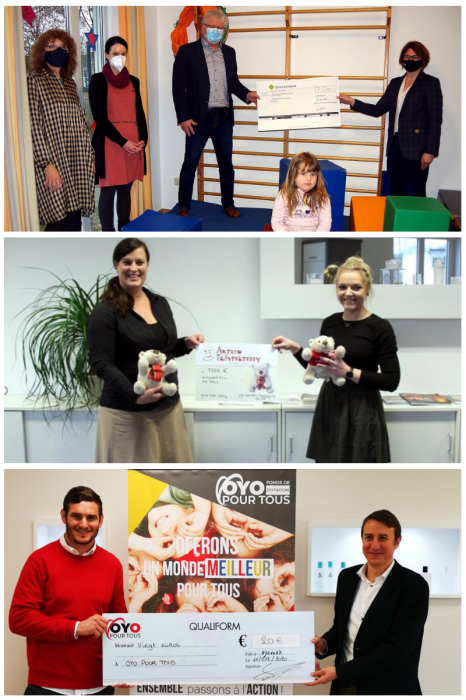 Certina Packaging shares its Christmas spirit with charities across Europe