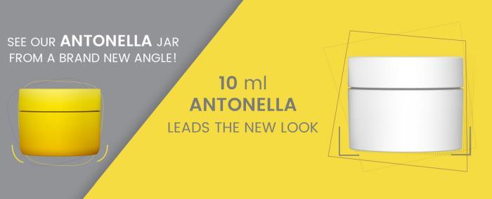HK Packaging updates best selling Antonella jar