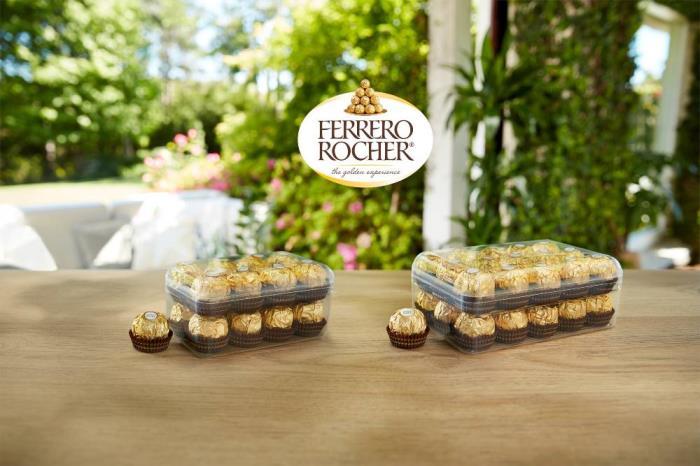 Milliken helps create more sustainable box for Ferrero Rocher