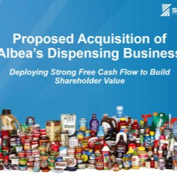 Silgan to acquire Albea's dispensing business for $900 million
