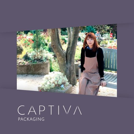 Captivas rebranded identity increases global sales opportunities for cosmetic packaging