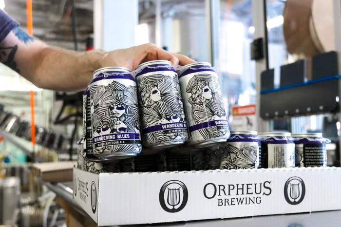 Wavegrip and Orpheus Brewing establish carrier return scheme