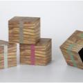 Wood Pattern Cardboard Box