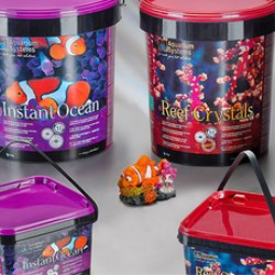 Aquarium Systems only uses Superfos pails with recycled plastic content
