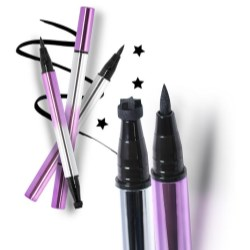 Eyeliner with stamps