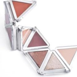 Foldable Triangle Eyeshadow Palette