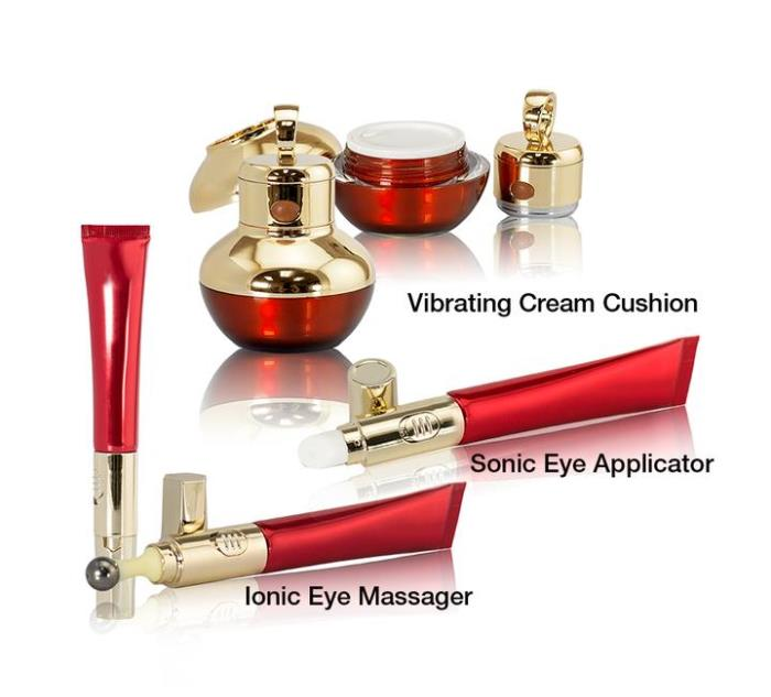 Stimulating skin care set
