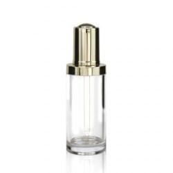 Button Dropper Glass Bottle