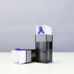 Acrylic Airless Pump bottle ZCF