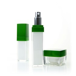 Acrylic Airless Pump bottle Z-E