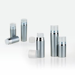 Plastic Airless Bottle Snap on Closure