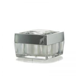 Square Jar with Diamond Galaxy Cap 15ml