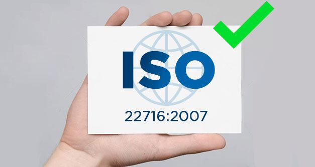 AB Plast achieves ISO 22716 certification: 2007