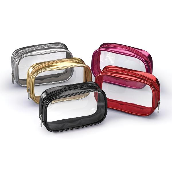 "Qosmedix Develops ""Clearly Precious Metals"" Cosmetic Bag Collection"
