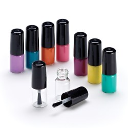 Qosmedix Introduces Mini Nail Polish Bottle for Sampling or Retail