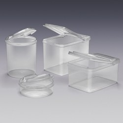 Qosmedix Introduces New Storage Containers with Flip Top Lids