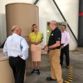 Indiana Lt. Governor Suzanne Crouch tours Pratt Industries Valparaiso