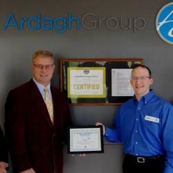 """Ardagh Metal Packaging USA Inc. Conklin Facility Receives """"ZERO LANDFILL"""" Award"""