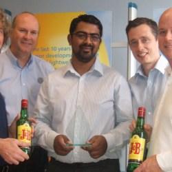 Diageo supplier innovation award for Ardagh