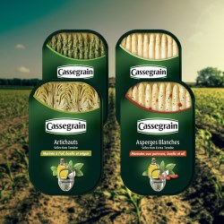 Ardagh's can shows off the quality of Bonduelle's Cassegrain