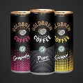 Fizzy coffee in a can