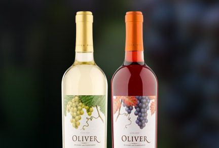 Ardagh Group's premium look wine bottles for Oliver Winery