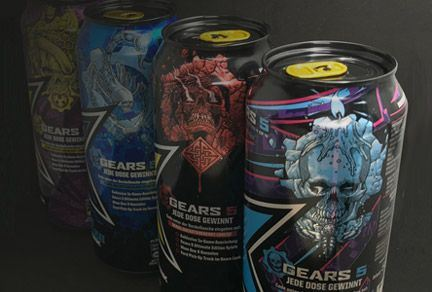 Ardagh Group's cans reward gaming fans in Rockstar Energy Gears 5 promotion