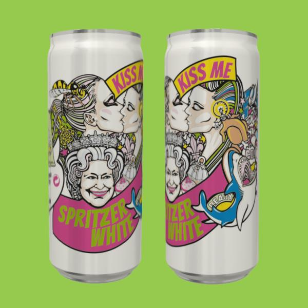 Tradition marries the modern with 'Kiss Me' spritzer in a can