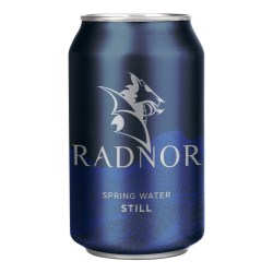 Radnor Hills spring water hits canned water market