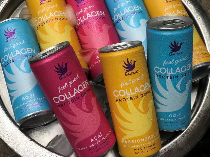 MALUMA collagen protein drinks: wellbeing in a can