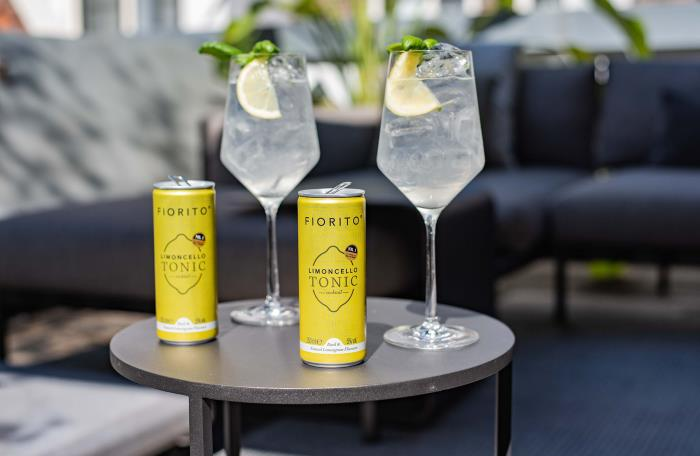 Ardagh Graphics create a sharp look for Fiorito Limoncello Tonic