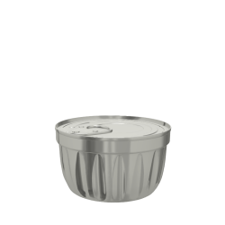 Fluted Conical Food Can (73x42.9mm)