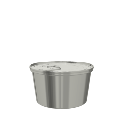 Smooth Conical Food Can (73x43.7mm)