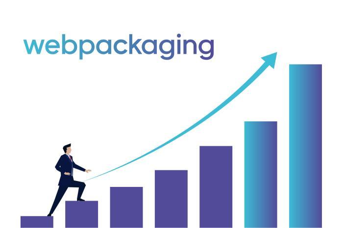Webpackaging reaches record visits