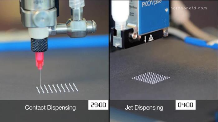 Nordson EFD introduces the contact versus Jet Dispensing White Paper