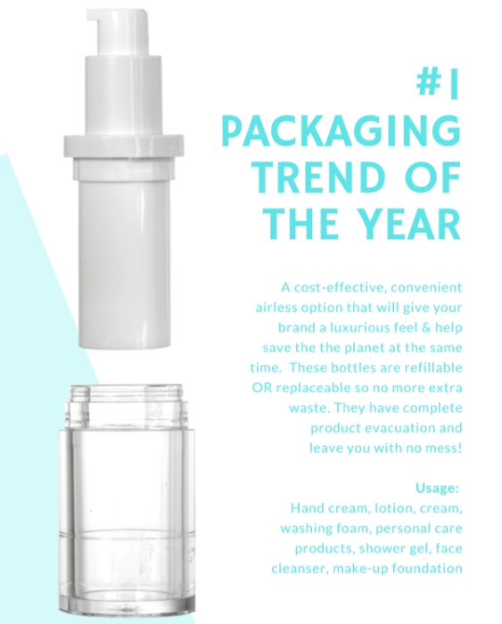 #1 Packaging trend of the year - Refillable Bottles
